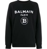 Balmain Balmain Sweater with logo print black