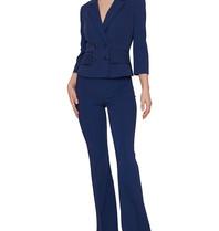 Elisabetta Franchi Elisabetta Franchi flared trousers blue