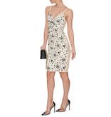 Elisabetta Franchi Elisabetta Franchi dress with star print and lace white