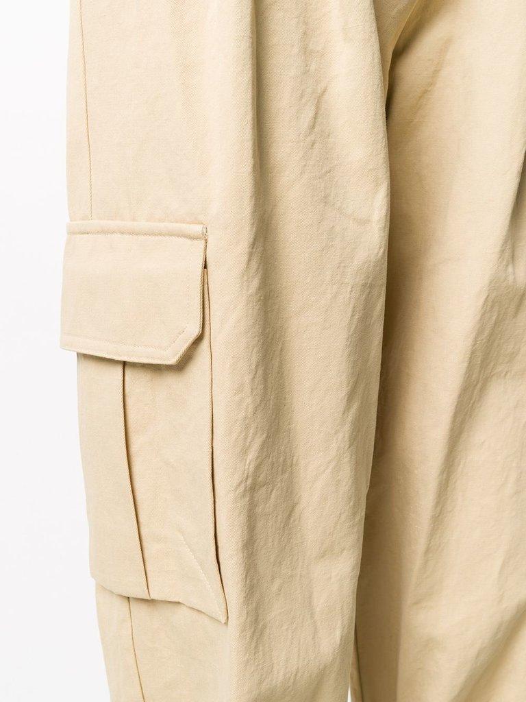 Erika Cavallini Erika Cavallini Cargo broek beige