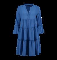 Devotion Hingabe Midi Ella Kleid blau