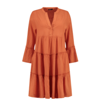 Devotion Devotion midi Ella dress orange