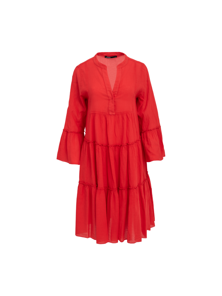 Devotion Devotion midi Ella jurk rood