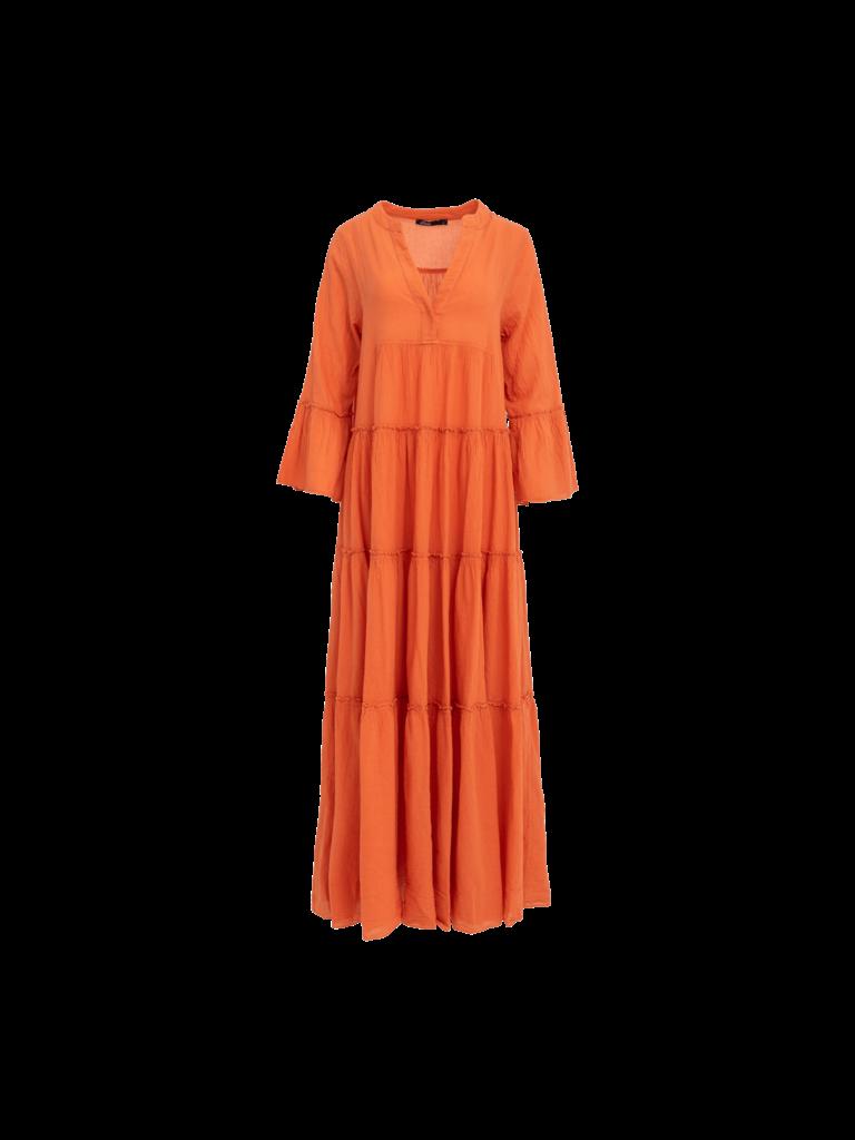 Devotion Devotion maxi Ella dress orange