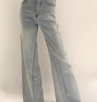 Erika Cavallini Erika Cavallini wijduitlopende jeans blauw