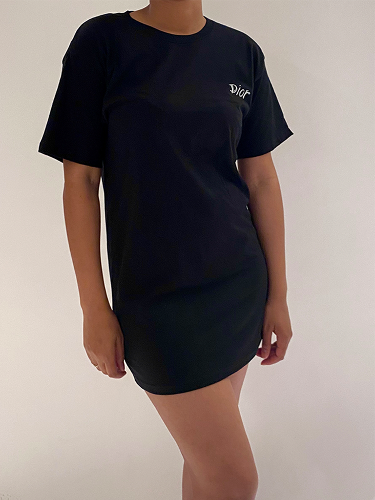 FALLON Amsterdam FALLON Amsterdam Dior T-shirt dress black