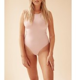 Body by Olcay Body By Olcay Basic crewneck body soft pink