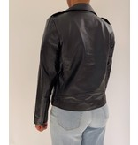 Est'seven Est'Seven Moter leather jacket black