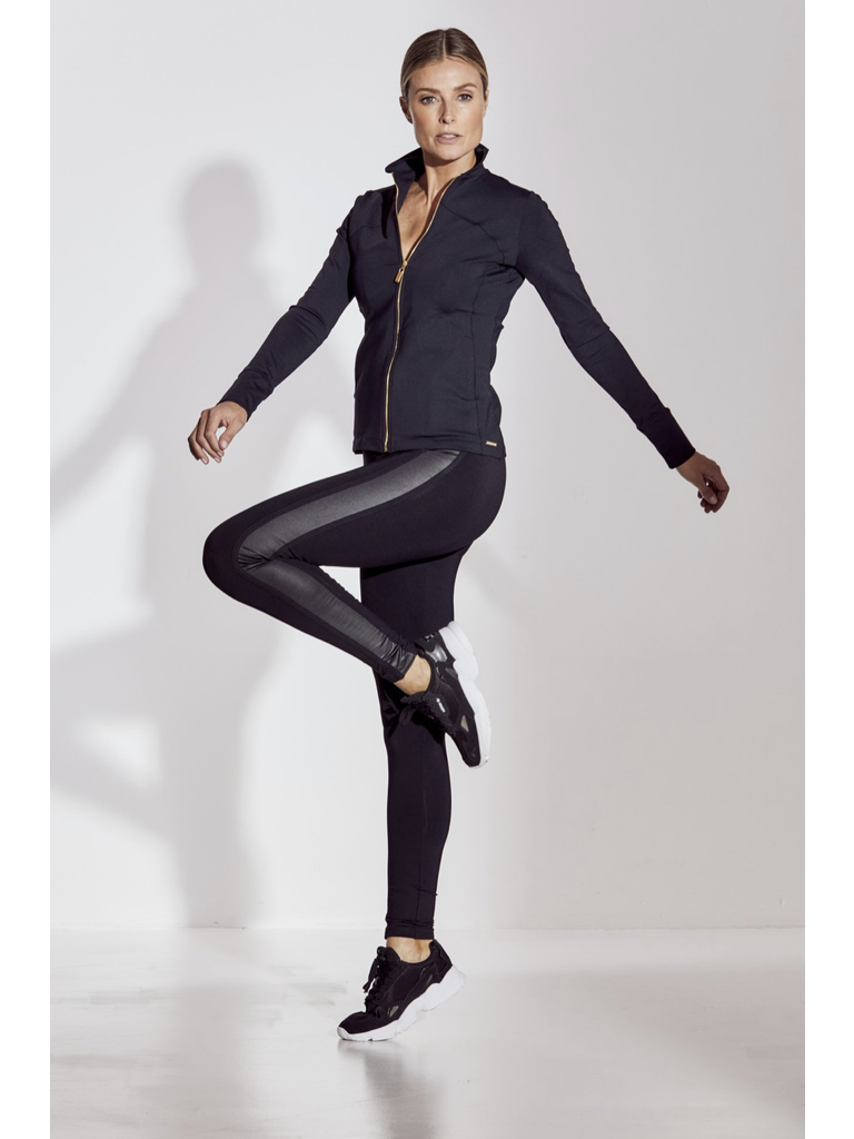 deblon sports Deblon Sports Kate sportlegging zwart shine