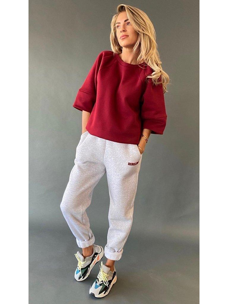 Est'seven Est'seven Roman sweater bordeaux