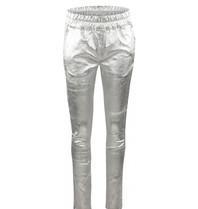 Est'seven Est'seven leather boyfriend chino silver