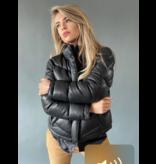 Est'seven Est'Seven Hiver jas kort zwart