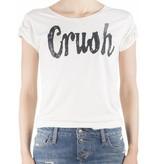 VLVT VLVT Crush t-shirt crème