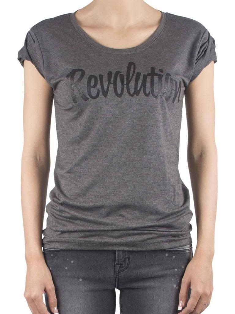 VLVT VLVT Revolution T-Shirt grau