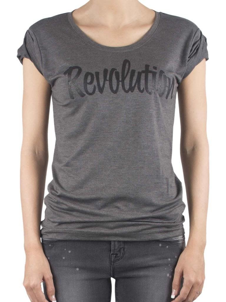 VLVT VLVT Revolution tee grey