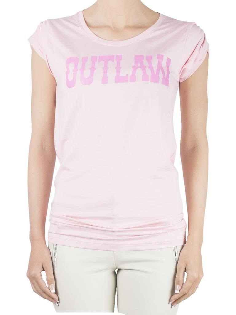 VLVT VLVT Outlaw t-shirt roze
