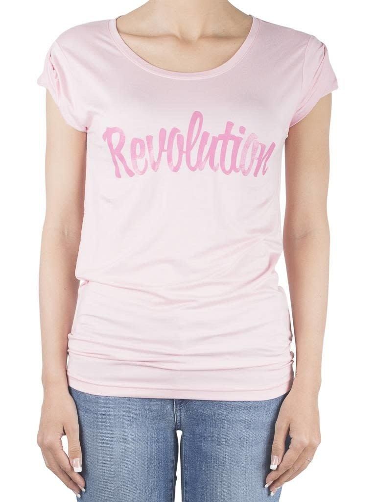 VLVT VLVT Revolution t-shirt roze