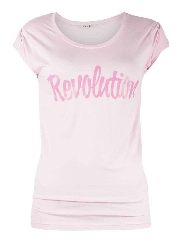 VLVT VLVT Revolution T-Shirt rosa