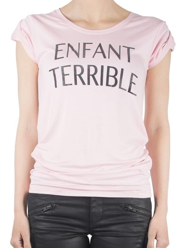 VLVT VLVT Enfant terrible tee pink