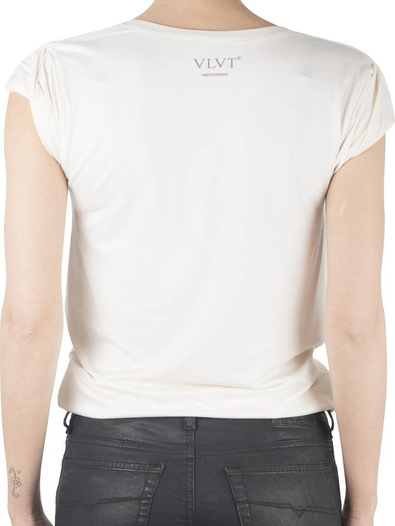 VLVT VLVT Revolution creme T-Shirt