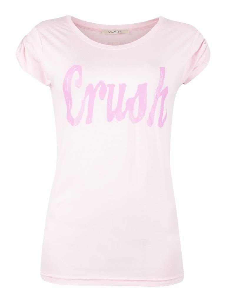 VLVT VLVT Crush tee pink