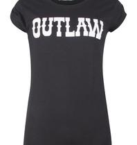 VLVT VLVT Outlaw T-Shirt zwart