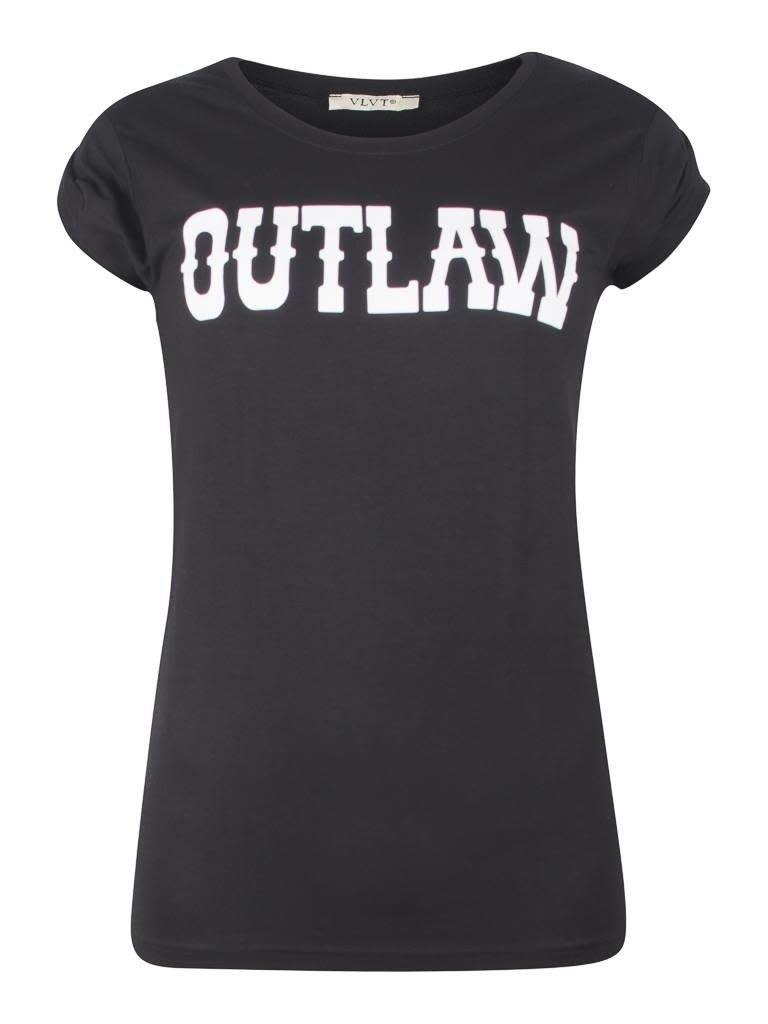 VLVT VLVT Outlaw tee black