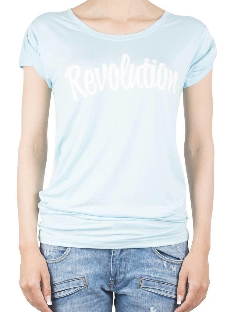 VLVT VLVT Revolution tee light blue