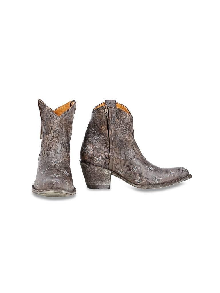 Mexicana Liberty zip laarzen bruin