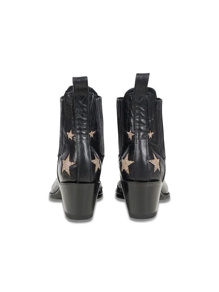 Mexicana Circus laarzen zwart-goud