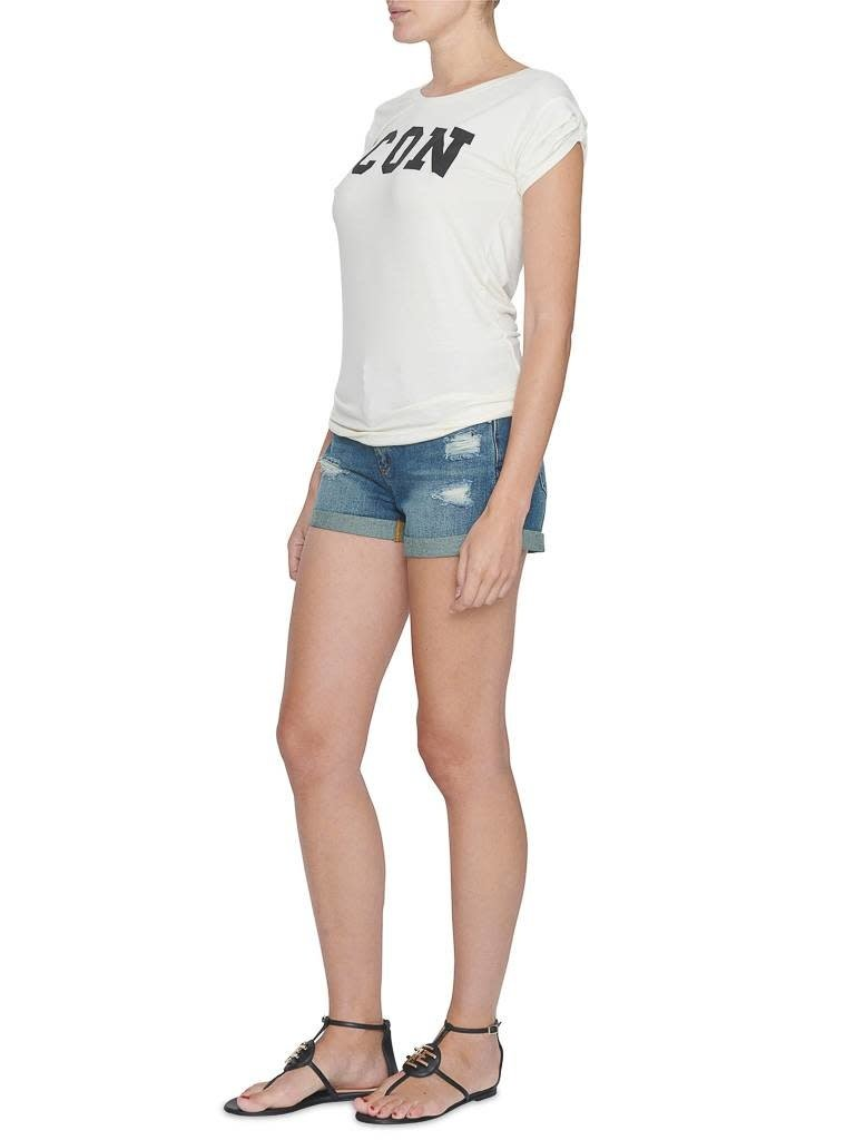 VLVT VLVT Icon t-shirt crème
