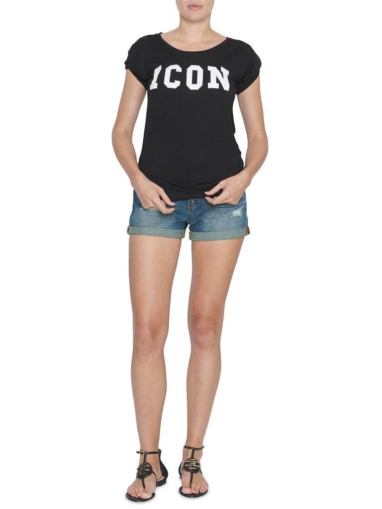 VLVT VLVT Icon t-shirt zwart