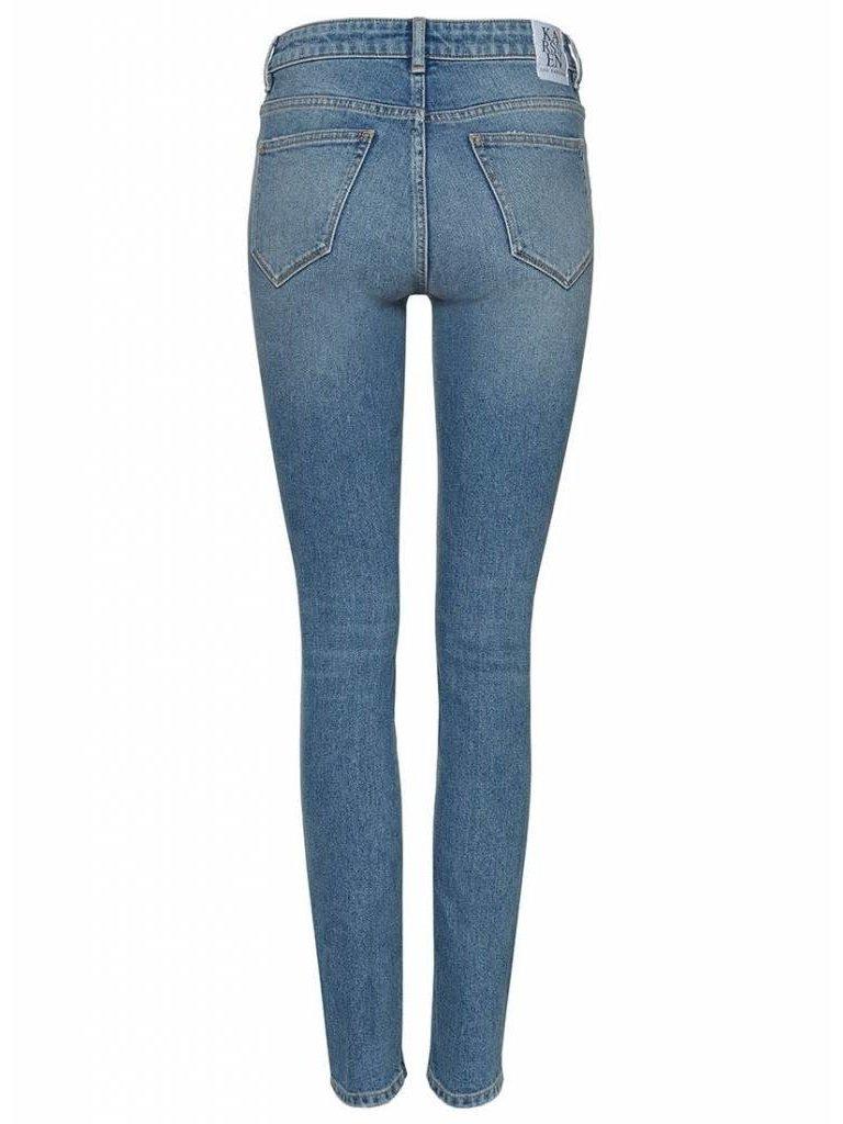 Zoe Karssen Patti jeans with print blue
