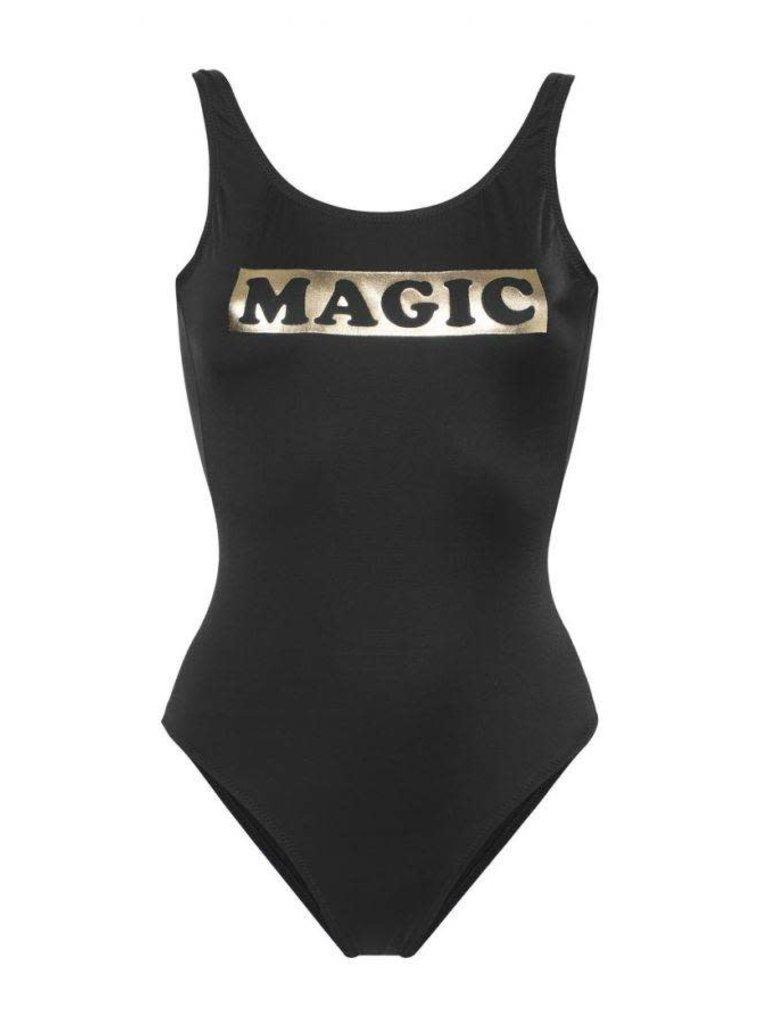 Zoe Karssen Magic badpak zwart