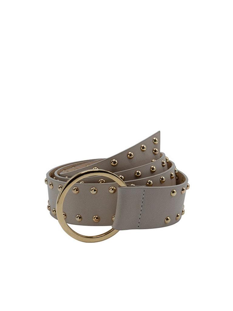 So Jamie So Jamie Knot it Up belt beige gold