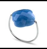 Morganne Bello Morganne Bello quartz blue ring