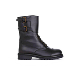 Semicouture Semicouture Hank combat boots with buckles black