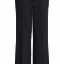 SET Fashion pantalon met wijde pijp zwart