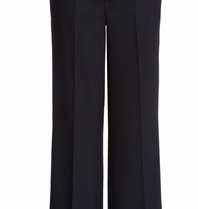 SET Fashion trousers with wide leg black