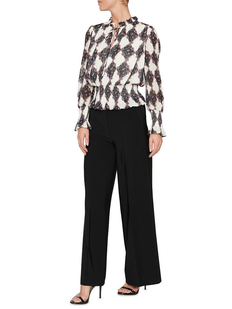 SET Fashion Hose mit weitem Bein schwarz