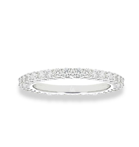 La Sisters LA Sisters Mini Eternity Ring silver