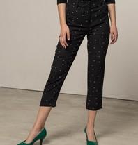 Silvian Heach Silvian Heach Beres trousers with black dots