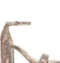 Sam Edelman Sam Edelman Daniella heel sandal with print peach