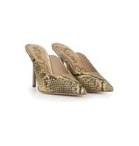 Sam Edelman Sam Edelman Addilyn slippers with heel gold