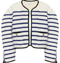 Philosophy Di Lorenzo Serafini Philosophy Di Lorenzo Serafini oversized blazer with stripes print white