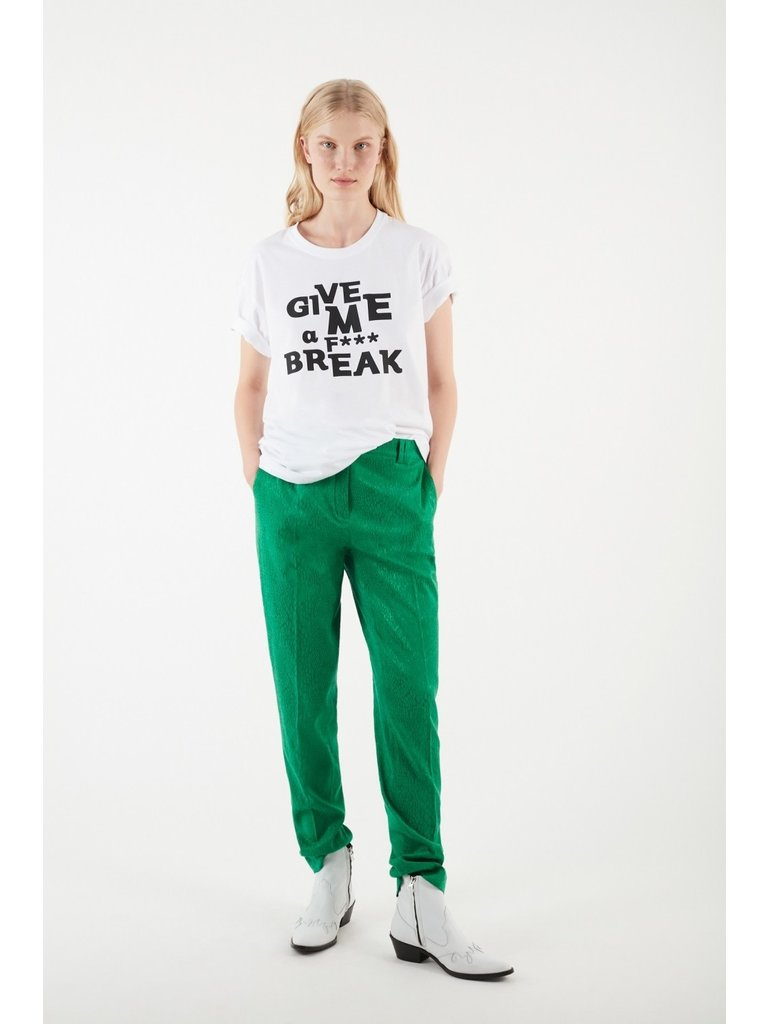 Valentine Gauthier Valentine Gauthier Harris Break T-Shirt mit weißem Aufdruck