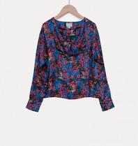 Valentine Gauthier Valentine Gauthier Suzie blouse with floral print multicolor