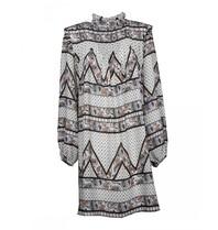 Silvian Heach Silvian Heach Bissam jurk met print wit