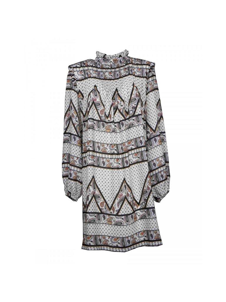 Silvian Heach Silvian Heach Bissam dress with print white