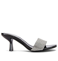 Jeffrey Campbell Jeffrey Campbell Glitzed Heeled sandal with strass black